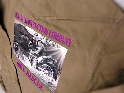 バイク隊のユニフォーム
