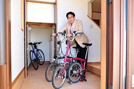 大人用の自転車がラクラク3台収納出来ちゃいます!