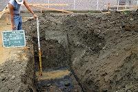 掘削深さ(1.5m)