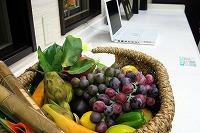 キッチン小物・果物かごパソコン
