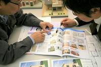 住宅模型細部打合