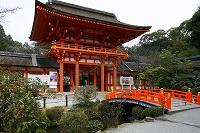 京都・上賀茂神社(楼門)