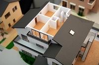 住宅模型(3階内部)静岡市駿河区