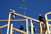 登り梁施工状況