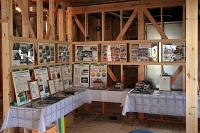 A邸現場における工事新工場写真の展示