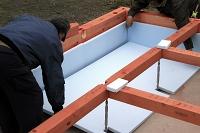 基礎断熱工法(スタイロホーム敷き込み)
