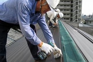屋根材の軽量化