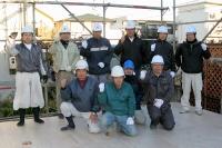 木工事建て方メンバー