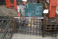 地中梁基礎鉄筋配筋検査