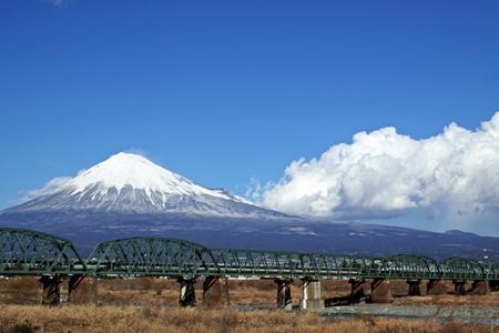 富士川(JR・下り)鉄橋