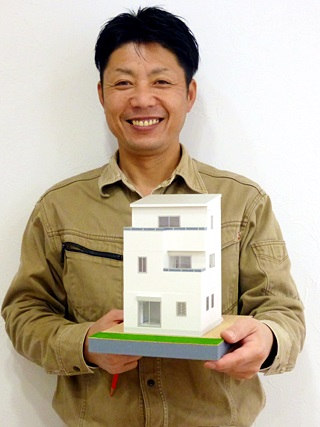 我が家の住宅模型の完成です!